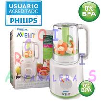 Vaporera/licuadora Philips Avent Scf870/20 Arcoiris