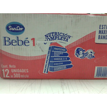 Sancor Bebé 1 Pack 500ml X 12 Leches