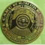 Antiguo Calendario Giratorio 1922 A 1943 Metalico