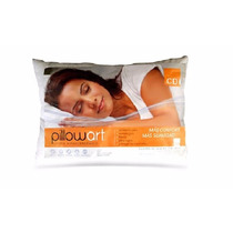 Almohada Pillow Art 100% Fibra Siliconada 50x90cm. King Size