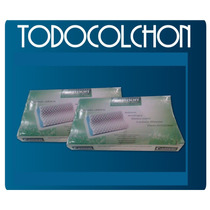 Combo 2 Almohadas Cannon Cervical Antistress C/funda Y Envio