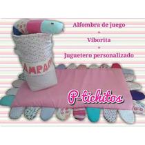 Juguetero Personalizado+alfombra De Juego+viborita