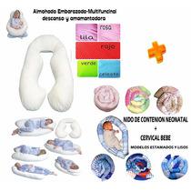 Almohada Para Embarazada,amamantar,descanso+nido+cervical