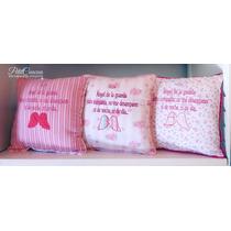 Almohadon Angel De La Guarda, Decorativo, Frases, Bebe, Niño