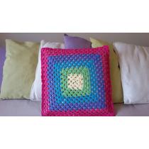 Almohadón Tejido A Crochet