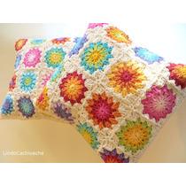 Fundas De Almohadones - Tejidos Al Crochet