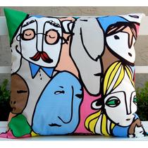 Almohadones De Diseño - Telas Importadas