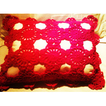 Almohadon Tejido Al Crochet