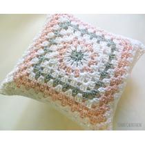 Peque Almohadones - Tejidos Al Crochet - En Stock