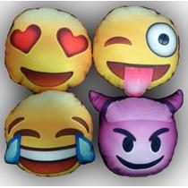 Almohadones Emoticones Emoji Caritas Whasapp Apro 30cm Diam