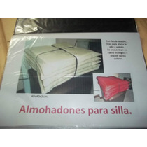 Almohadon Sillas 45x45 Ecocuero O Tela-friselina