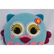 Almohadón Lechuza (al Crochet)