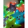 Estrella Luminosa Con Luz Led Peluches Almohadon Decorativo