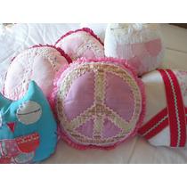 Almohadones Diseño Simbolo De Paz, Buhos, Lechuzas !!!!