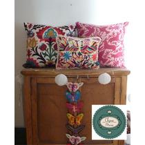 Almohadones Decorativos Tipo Mexicanos Sublimados 40 X 40 Cm