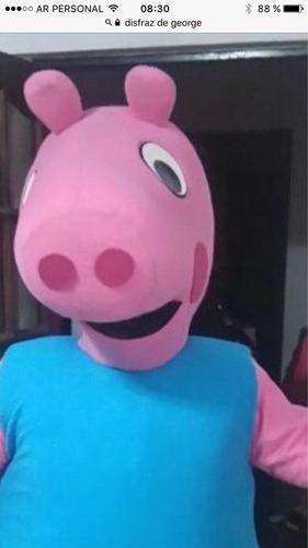 Alq.disfraz Envio S/cargoo Peppa Pig, George, Mickey Paw !!!