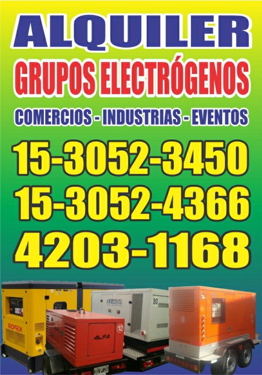 Alquiler de grupos electrogenos generadores electricos - Grupos electrogenos precios ...