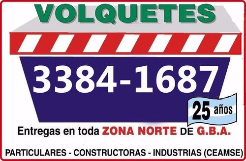 Alquiler De Volquetes En Zona Norte Tel Fono 4747 6258