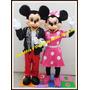 Alquiler Disfraz Cabezon Mickey Minnie Sheriff Peppa Minion