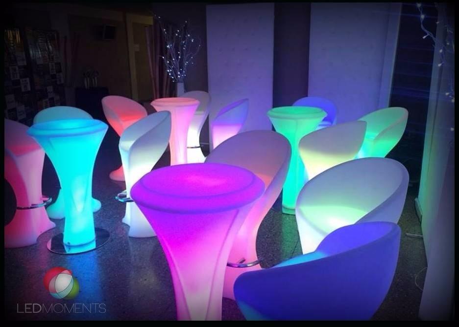 Alquiler Muebles Luminosos Led Living Cubos Fiestas Eventos - Capital Federal...
