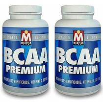 Bcaa Premium 240 Caps Mervick Aminos Ramificados Recuperador