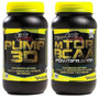 Pump 3d 250 Grs + Mtor Bcaa 200 Grs Star Nutrition Hardcore