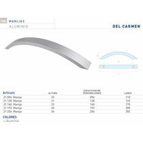 Manija Del Carmen De Aluminio 160mm Herrajes Para Muebles