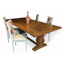 Mesa De Comedor Tipo Restoration - Somos Fabricantes