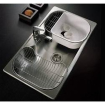 Pileta Bacha Cocina Acero Johnson Simple Luxor Si85sta