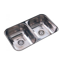 Pileta Bacha De Cocina Doble Johnson C28/18 Acero Inoxidable