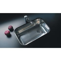 Pileta Bacha Cocina Acero Johnson Simple Z 52 Linea 304