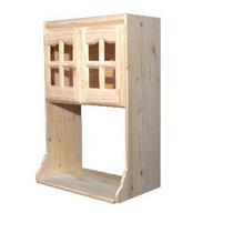 Alacena Porta Microondas 60 Cm. Pino