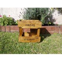 Mueble Organizador Frutas Verduras Madera Reciclada Pallets