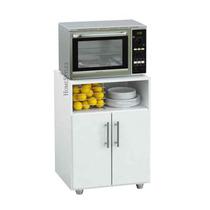 Rack De Cocina Porta Microondas C/2 Puertas | Centro Estant