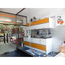 Mueble Cocina Laca Brillo Y Piel De Vidrio Amoblamientos Fl