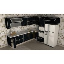 Muebles Cocina Bajomesada * Precio X Metro Lineal * Romanell