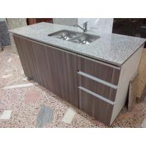 Mueble De Cocina Exelente Calidad , Mesada Granito ,b Doble