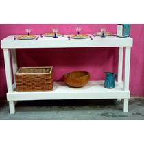 Desayunador,barra Mueble Isla,separador Ambientes