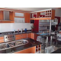 Mueble De Cocina + Desayunador + Isla