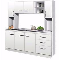 Kit De Cocina Organizador Ricchezze Mod Arco Blanco 83-1329