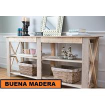 Mesa De Arrime / Isla De Cocina Rustica // Buena Madera