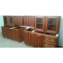 Muebles De Cocina Color Algarrobo