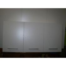 Alacena De 1.20 Cm. En Color Blanco , Oferta.