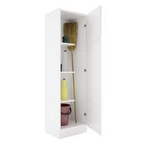 Organizador Escobero De Melamina 1 Puerta 45x161x38