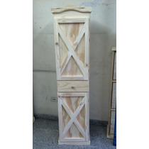 Despensero De 40cm. Puerta-cajon-puerta Pino Macizo.oferta!!
