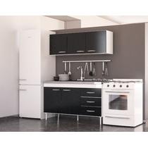 Combo Cocina Bajo Mesada+ Alacena 1.40 Mts. Dl 614-624