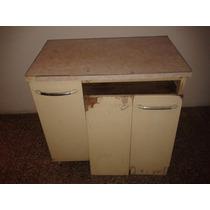 Mueble Bajo Mesada Estilo Americano Años 50 Retro Vintage