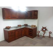 Muebles De Cocina Bajos Y Alacena Algarrobo