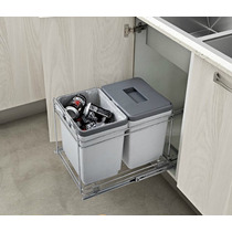 Porta Residuos Doble Italiano - Herraturr Herrajes - Nuevo
