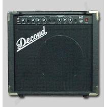Amplificador Multiuso P/teclado Voces Guitarra Mo-40w Decoud